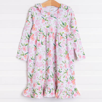 Hillary Knit Dress, Pink Floral