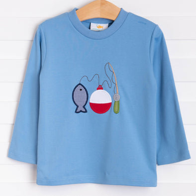 Gone Fishing Applique Shirt