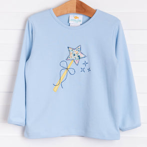 Make A Wish Applique Shirt