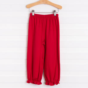 Audrey Ruffle Bloomer Pant, Solid (7 Colors)