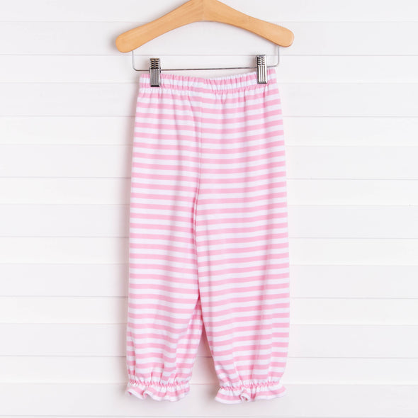 Audrey Ruffle Bloomer Pant, Stripe (6 Colors)