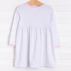Josie Popover Dress, Pink Dot