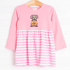 Halloween Puppy Dress, Pink