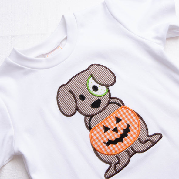 Halloween Puppy Pant Set, Brown