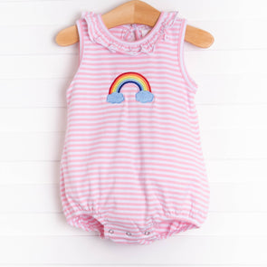 Magical Rainbow Embroidered Bubble