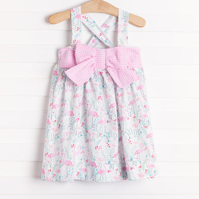 Anvy Kids Chloe Flamingo Dress