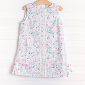 Anvy Kids Lily Flamingo Dress