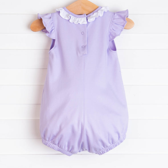 Aurora Angel Sleeve Pima Bubble, Lavender