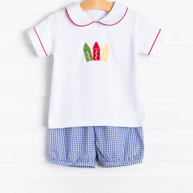 Little English Crayon Short Set