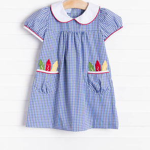 Little English Crayon Dunn Dress