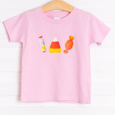 Halloween Treats Graphic Tee, Pink