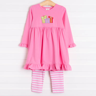 Perfect Gifts Applique Dress Set