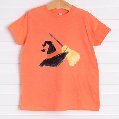 Spooky Essentials Graphic Tee, Orange
