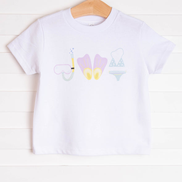 One Splash At A Time Girl Graphic Tee