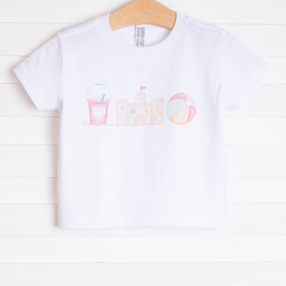 Sandcastles and Sunshine Girl Graphic Tee