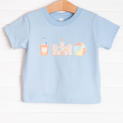 Sandcastles and Sunshine Boy Graphic Tee