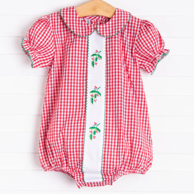 Sweet Dreams Holly Bubble, Red Gingham