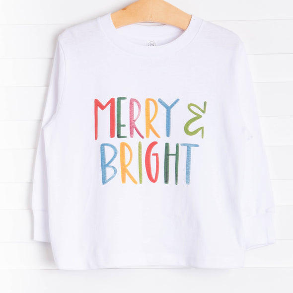 Merry and Bright Graphic Tee, 2 Colors