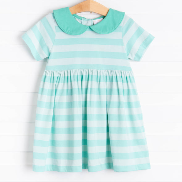 Julia Dress, Seafoam