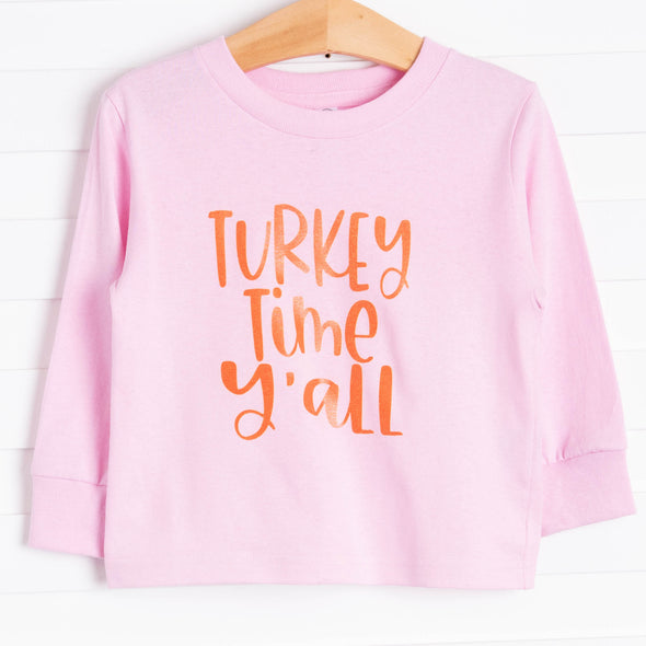 Turkey Time Graphic Tee, 4 Colors