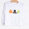 Pilgrim Thanksgiving Trio Graphic Tee