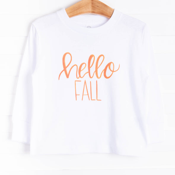 Hello Fall Graphic Tee, 3 Colors