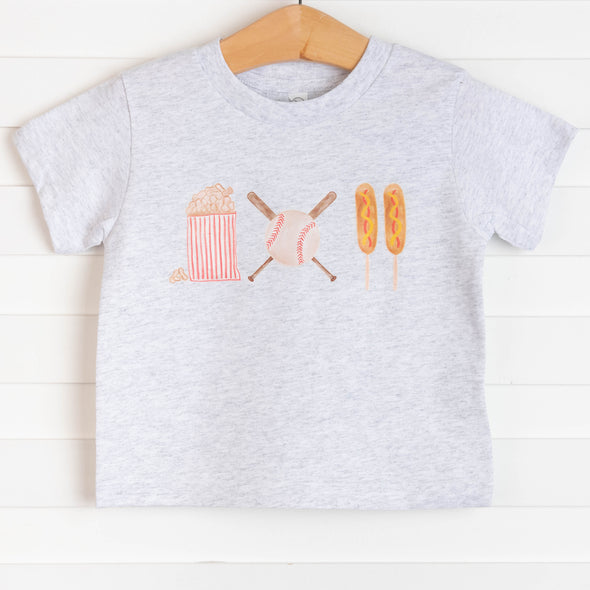 Ballpark Snacks Graphic Tee