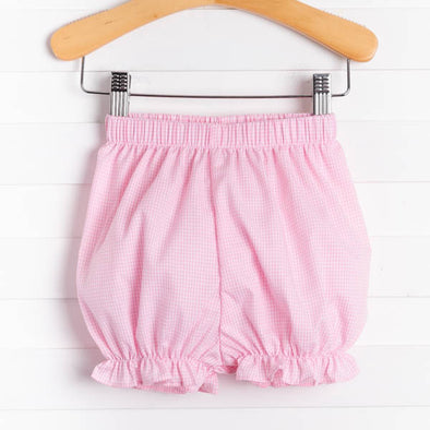 Girl Ruffle Bloomer Shorts, Prints (4 Colors)
