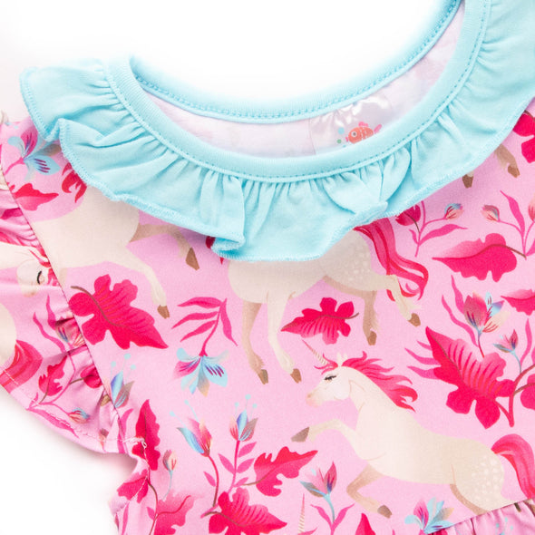 Tea Time Tunic Set, Pink Stripe