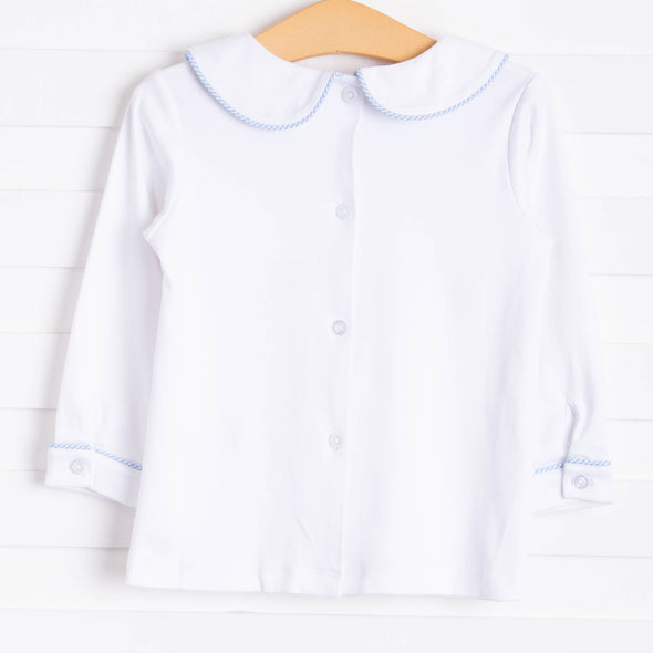 Chugging Along Shirt, White