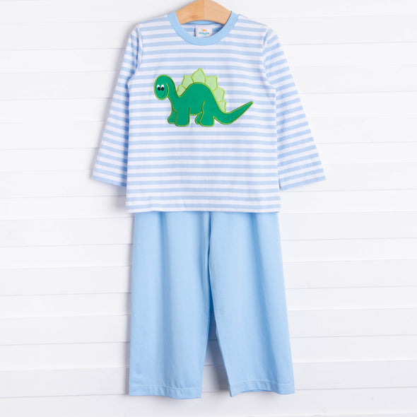 BrotherSaurus Pant Set, Blue