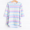 Kaleidoscope Dress, Long Sleeve Multi