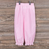 Stitchy Fish Girls Ruffle Bloomer Pant-Pink Gingham