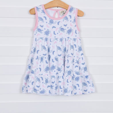 Luigi Kids Tabitha Turtle Dress
