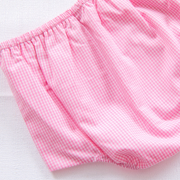 Whale's Tail Girls Diaper Set