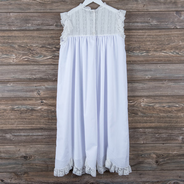 Treasured Memories Elliott Dress, White
