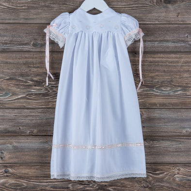 Treasured Memories Mae Daygown, White