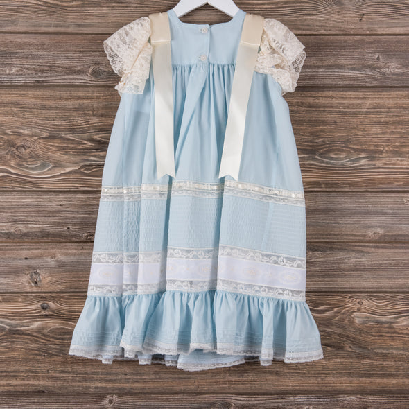 Treasured Memories Frances Dress, Blue