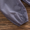 Stitchy Fish Bloomer Pant, Royal Gingham