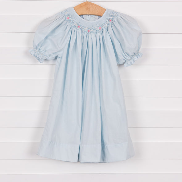 Sophia Dress, Blue