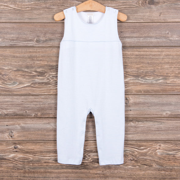 Little Boy Blue Romper, Little Lovey