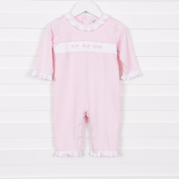 Bow-u-tiful Smocked Romper