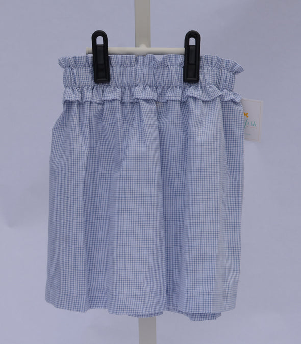 SAMPLE Stitchy Fish Window Pane Skirt