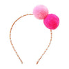PomPom Headband - Multiple Colors