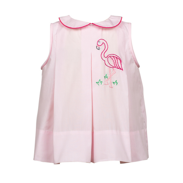 The Proper Peony Flamingo Dress