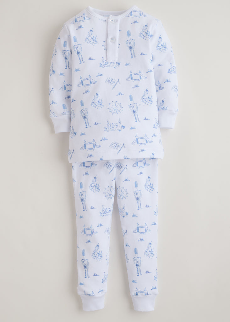 Little English London Jammies - Blue
