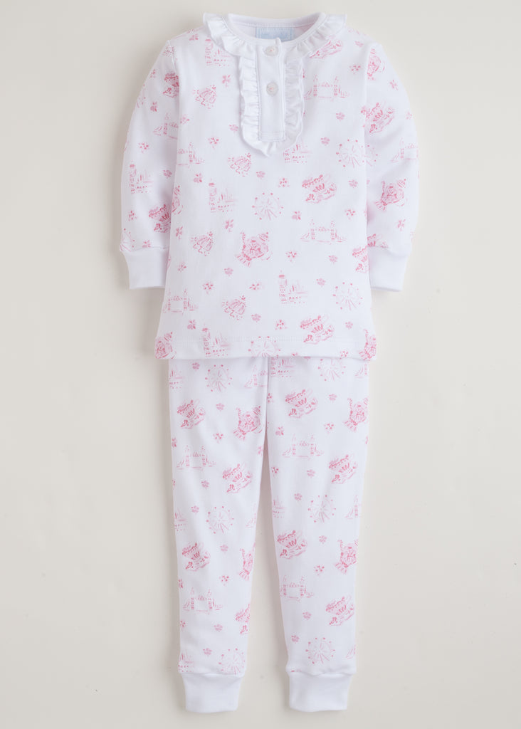 Little English London Jammies - Pink