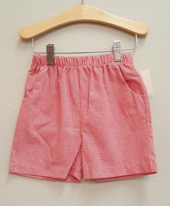 Boys Pocket Shorts (10 Fabric Options)