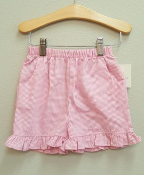 Stitchy Fish Girls Ruffle Shorts  (7 fabric options)