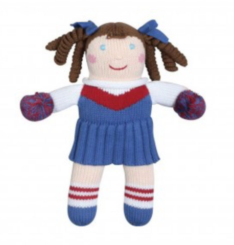 "12"" Cheerleader Doll"